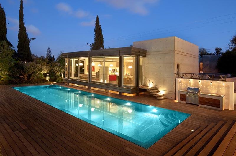 דרור ברדה, בית עם בריכה, אדריכלים במרז
