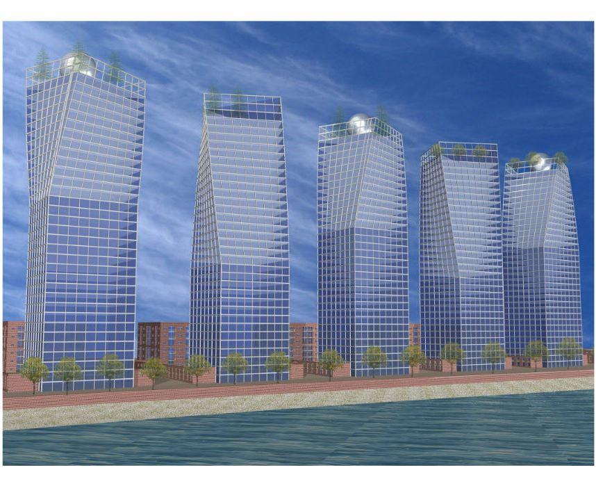 אדריכלי יוקרה, מגדלי east river