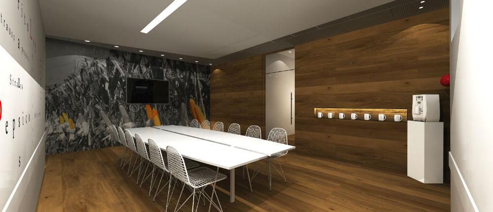 דרור ברדה, חדר ישיבות שטראוס, עיצוב