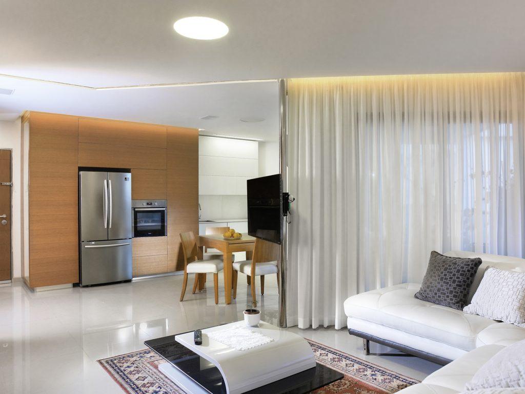 תכנון אדריכלי, דירה במרינה