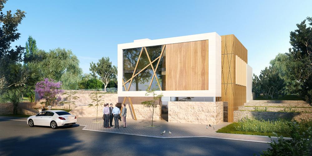 דרור ברדה, גבעת שמואל, אדריכלים במרכז