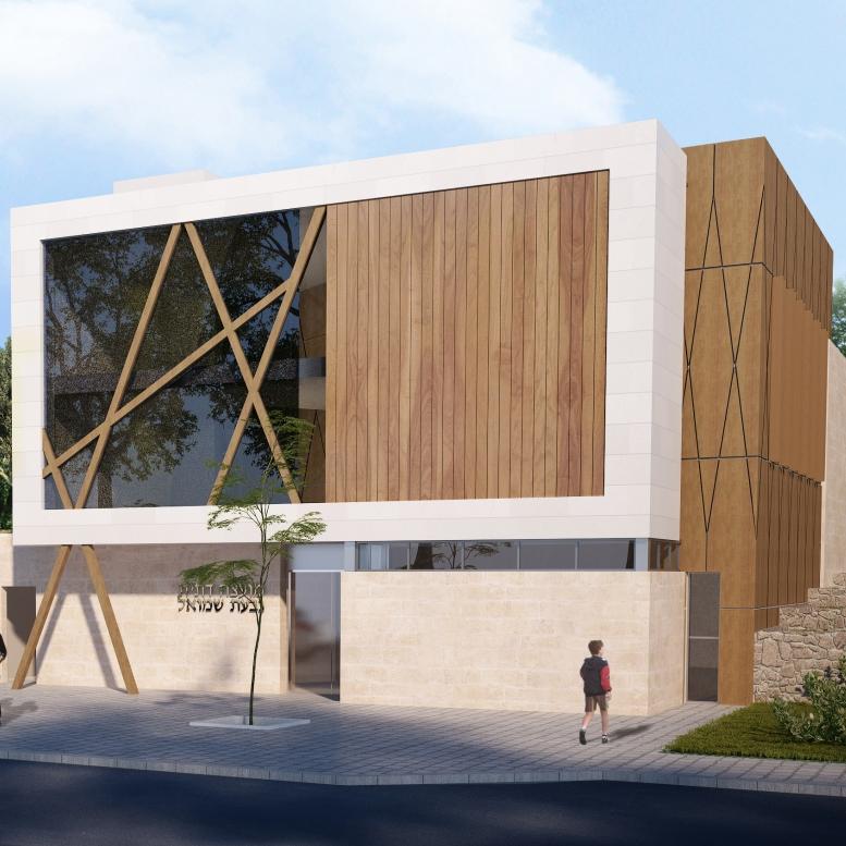 דרור ברדה, בית כנסת, פרויקט אדריכלי