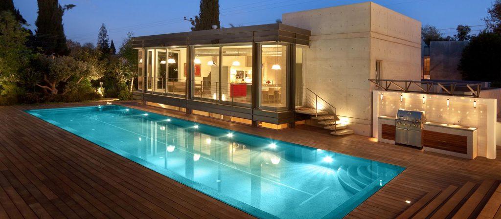 דרור ברדה, בית, בריכה, עיצוב, אדריכלות