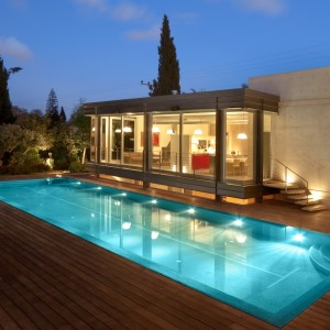 עיצוב בתים מודרניים, וילה ברמת גן